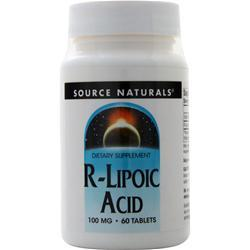 Source Naturals R-Lipoic Acid 60 tabs