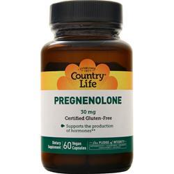 Country Life Pregnenolone (30mg) 60 vcaps