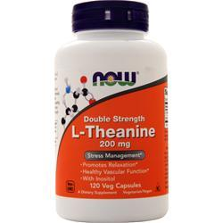Now L-Theanine - Double Strength (200mg) 120 vcaps
