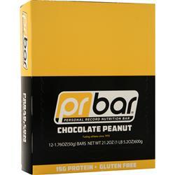 Pr Nutrition PR Bar - Personal Record Nutrition Bar Chocolate Peanut 12 bars