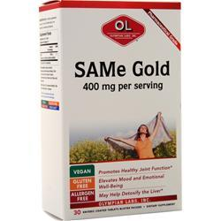 Olympian Labs SAMe Gold (400mg) 30 tabs