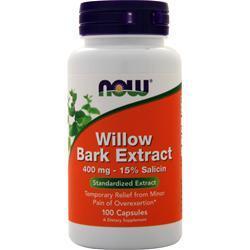 Now White Willow Bark (400mg) 100 caps