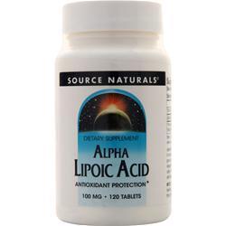 Source Naturals Alpha Lipoic Acid (100mg) 120 tabs