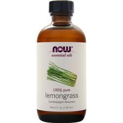 Now Lemongrass Oil 4 fl.oz