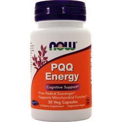 Now PQQ Energy 30 vcaps