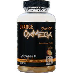 Controlled Labs Orange OxiMega Fish Oil Citrus Flavor 120 sgels
