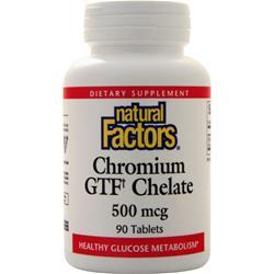 Natural Factors Chromium GTF Chelate (500mcg) 90 tabs