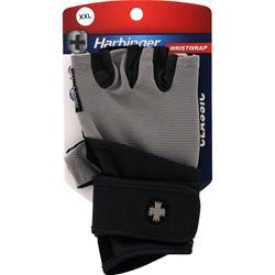 Harbinger Classic Wristwrap Glove Black/Grey (XXL) 2 glove
