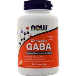 Now Chewable GABA Orange 90 chews