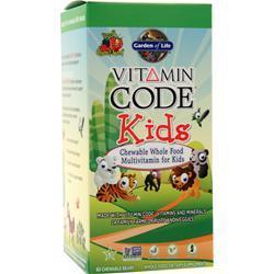 Garden Of Life Vitamin Code - Kids Cherry Berry 60 bears