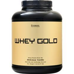 Ultimate Nutrition Whey Gold Delicious Vanilla 5 lbs