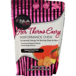 NLA For Her Her Thermo Energy Performance Chew Tropical Fruit 30 chews