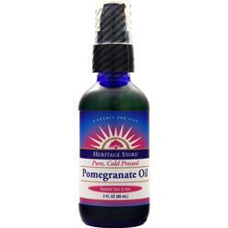 Heritage Products Pomegranate Oil 2 fl.oz