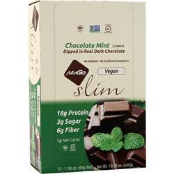 Nugo Nutrition Slim Vegan Bar Chocolate Mint 12 bars