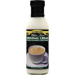 Walden Farms Original Cream - Naturally Flavored Coffee Creamer Original Cream 12 fl.oz