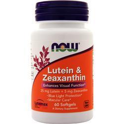 Now Lutein & Zeaxanthin 60 sgels