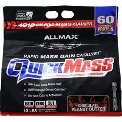 Allmax Nutrition QuickMass Chocolate Peanut Butter 12 lbs