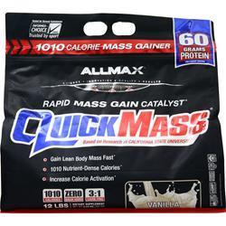 Allmax Nutrition QuickMass Vanilla 12 lbs