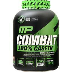 Muscle Pharm Combat 100% Casein Protein Chocolate Milk 4 lbs