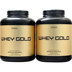 Ultimate Nutrition Whey Gold (Buy 1 Get 1 Free) Chocolate 10 lbs