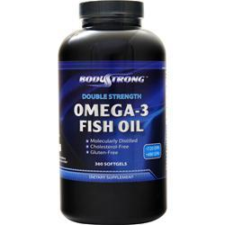 BodyStrong Omega-3 Fish Oil (Double Strength) 360 sgels