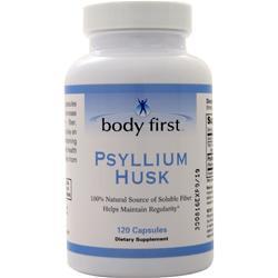 Body First Psyllium Husk 120 caps