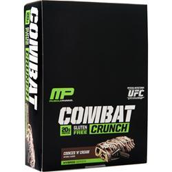 Muscle Pharm Combat Crunch Bar Cookies 'N' Cream 12 bars