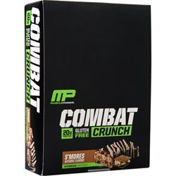 Muscle Pharm Combat Crunch Bar S'mores 12 bars