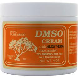 DMSO DMSO Cream with Aloe Vera - 70%/30% Rose Scented 4 oz