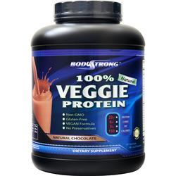 BodyStrong 100% Veggie Protein Natural Chocolate 5 lbs