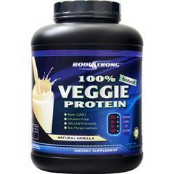 BodyStrong 100% Veggie Protein Natural Vanilla 5 lbs