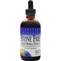 Planetary Formulas Stone Free Liquid Herbal Extract 4 fl.oz
