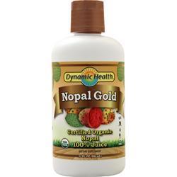 Dynamic Health Nopal Gold Liquid (Certified Organic) 32 fl.oz
