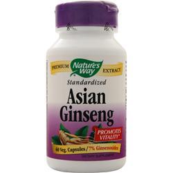 Nature's Way Asian Ginseng - Standardized Extract 60 vcaps