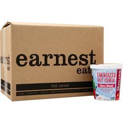 Earnest Eats Energized Hot Cereal Cherry Almond BEST BY 11/11/19 12 pack