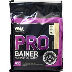 Optimum Nutrition Pro Gainer - High Protein Gainer Vanilla Custard 10.19 lbs