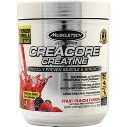Muscletech Creacore Creatine Pro Series Fruit Punch Fusion 11.51 oz