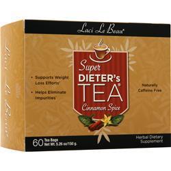 Laci Le Beau Super Dieter's Tea Cleanse Cinnamon Spice 60 pckts