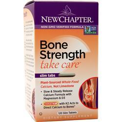 New Chapter Bone Strength Take Care - Slim Tabs 120 tabs