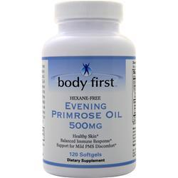 Body First Evening Primrose Oil (500mg)  EXPIRES 1/20 120 sgels