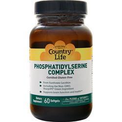 Country Life Neuro-PS Phosphatidylserine Complex 60 sgels