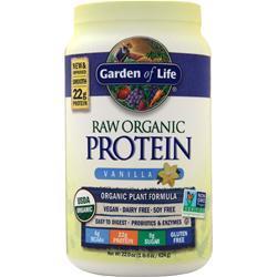 Garden Of Life Raw Organic Protein Vanilla 624 grams