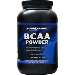 BodyStrong BCAA Powder Unflavored 1000 grams
