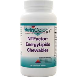 Nutricology NTFactor Energy Lipids Chewables 60 chews