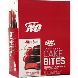 Optimum Nutrition Protein Cake Bite Chocolate Dipped Cherry EXPIRES 5/18 12 pckts