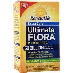 Renew Life Ultimate Flora - Extra Care Probiotic 50 Billion 60 vcaps