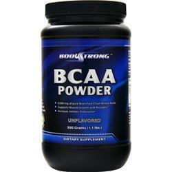 BodyStrong BCAA Powder Unflavored Original 500 grams
