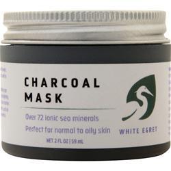 White Egret Charcoal Mask 2 fl.oz