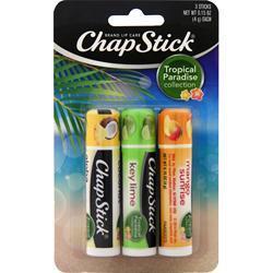 Chapstick ChapStick Tropical Paradise Collection 3 count