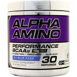 Cellucor Alpha Amino Performance BCAAs Icy Blue Razz 381 grams